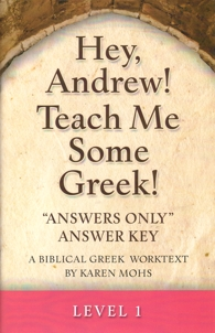 "Greek Level 1 ""Answers Only"" Answer Key"