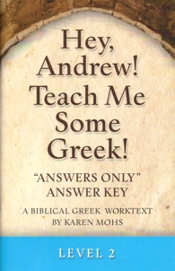 "Greek Level 2 ""Answers Only"" Answer Key"