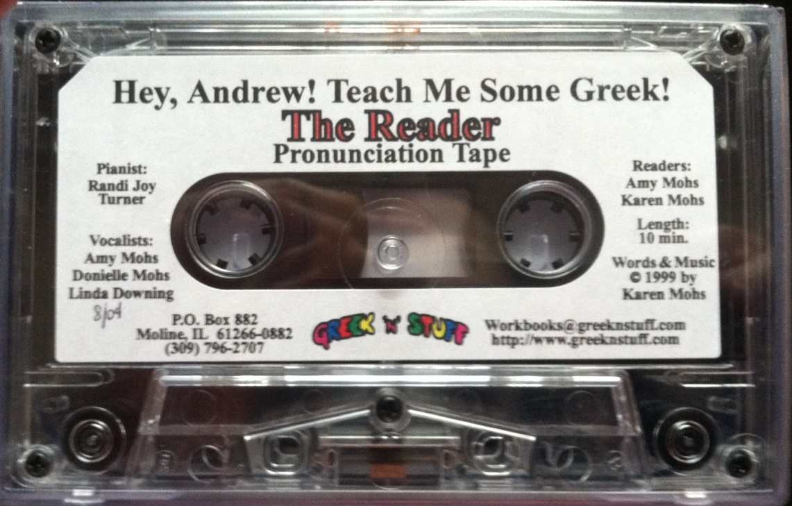 Greek Audio Cassette Tape for Reader, Levels 1 and 2