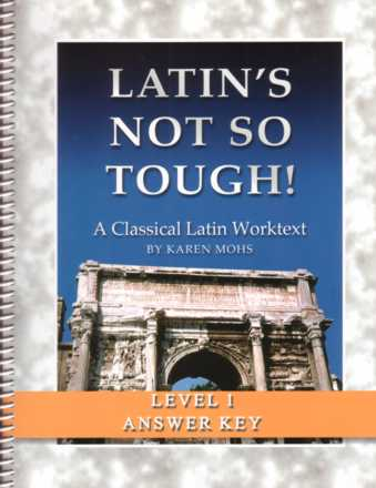 Latin Level 1 Full Text Answer Key