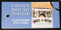 Latin Level 1 Flashcards on a Ring