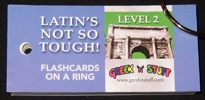 "Latin Level Two ""Flashcards on a Ring"""