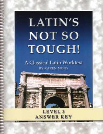 "Latin Level Three ""Full Text"" Answer Key"