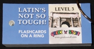 Latin Level 3 Flashcards on a Ring