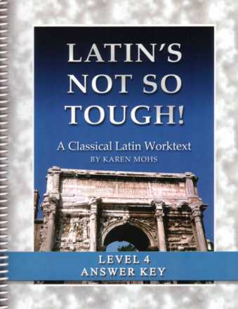 Latin Level 4 Full Text Answer Key