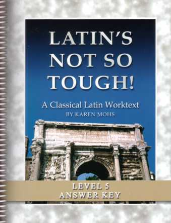 "Latin Level Five ""Full Text"" Answer Key"