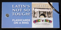 Latin Level 5 Flashcards on a Ring