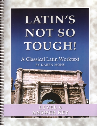 "Latin Level Six ""Full Text"" Answer Key"