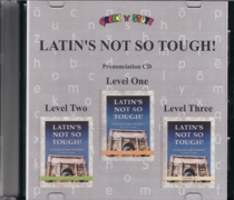 Latin Audio Pronunciation CD for Levels 1, 2, and 3