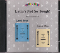 Pronunciation CD for Latin Levels 4 and 5
